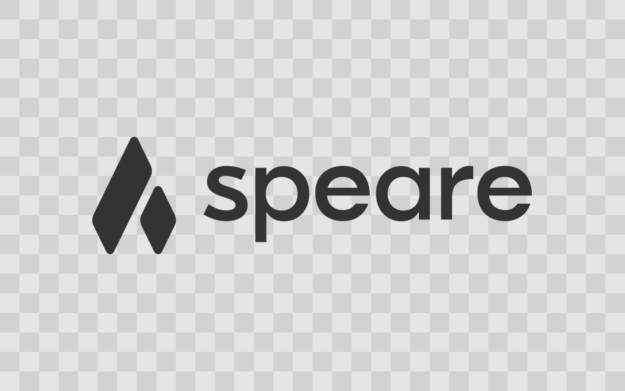 Speare Logo Black